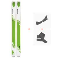 Ski Kastle BMX105 HP 2019 + Tourenbindungen + Felle