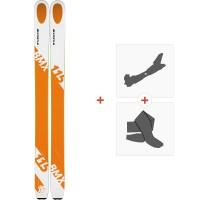 Ski Kastle BMX115 2019 + Fixations de ski randonnée + Peaux