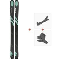 Ski Kastle FX95 HP 2019 + Fixations de ski randonnée + Peaux