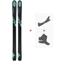 Ski Kastle FX95 2019 + Tourenbindungen + Felle