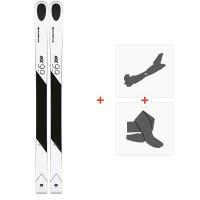 Ski Kastle MX99 2019 + Fixations de ski randonnée + Peaux