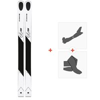 Ski Kastle MX99 2019 + Tourenbindungen + Felle