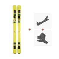 Ski Scott The Ski 2015 + Fixations de ski randonnée + Peaux