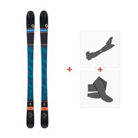 Ski Scott Reverse 2016 + Fixations de ski randonnée + Peaux239672