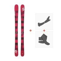 Ski Scott Punisher 95 W 2017 + Fixations de ski randonnée + Peaux244232