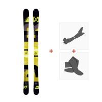 Ski Scott Punisher 95 2016 + Fixations de ski randonnée + Peaux239676