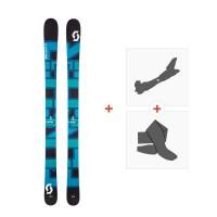 Ski Scott Punisher 110 2017 + Fixations de ski randonnée + Peaux244230