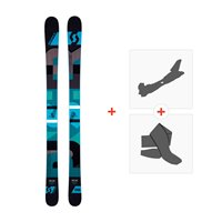 Ski Scott Punisher 110 2016 + Fixations de ski randonnée + Peaux239675