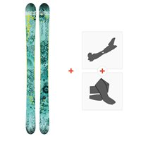 Ski Faction Supertonic 2018 + Fixations de ski randonnée + PeauxSKI-1718-SPT