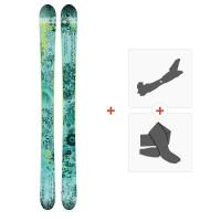 Ski Faction Supertonic 2018 + Tourenbindungen + FelleSKI-1718-SPT