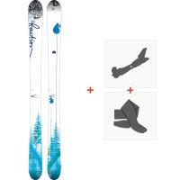 Ski Faction Supertonic 2015 + Tourenbindungen + Felle