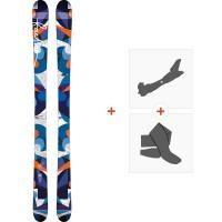 Ski Faction Heroine 2015 + Fixations de ski randonnée + Peaux