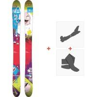 Ski Faction Dillinger Xl 2014 + Fixations de ski randonnée + Peaux