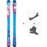 Ski Faction Dillinger 2014 + Tourenbindungen + Felle