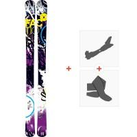 Ski Faction Dillinger 2013 + Fixations de ski randonnée + Peaux