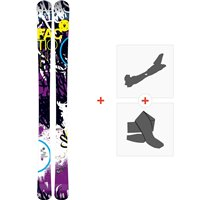Ski Faction Dillinger 2013 + Tourenbindungen + Felle