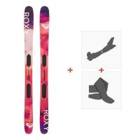 Ski Roxy Shima Freeride 2019 + Fixations de ski randonnée + PeauxROXY-SKW19-SHMFR-ZZZ