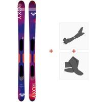 Ski Roxy Shima All Mountain Flat 2019 + Tourenbindungen + FelleSKI-RX-SH-96