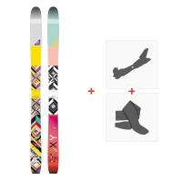 Ski Roxy Shima 2016 + Tourenbindungen + Felle