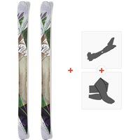 Ski Nordica Wildfire 2015 + Fixations de ski randonnée + Peaux0A422200.001