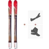 Ski Nordica Wild Belle 2016 + Fixations de ski randonnée + Peaux0A508700.001