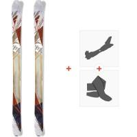 Ski Nordica Nemesis 2015 + Fixations de ski randonnée + Peaux0A422600.001