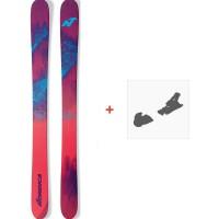 Ski Nordica La Nina 2017 + Fixations de ski randonnée + Peaux0A614600.001