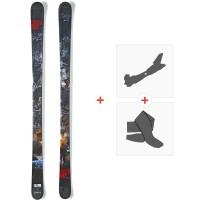 Ski Nordica Badmind 2015 + Fixations de ski randonnée + Peaux