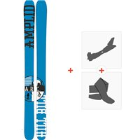 Ski Amplid The Hill Bill 2015 + Fixations de ski randonnée + PeauxA-30000