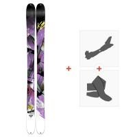 Ski K2 Remedy 92 2015 + Tourenbindungen + Felle