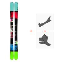 Ski K2 Domain 2014 + Fixations de ski randonnée + Peaux