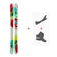 Ski K2 Missconduct 2014 + Tourenbindungen + Felle