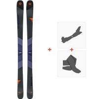Ski Blizzard Brahma 2019 + Fixations de ski randonnée + Peaux8A810000.001