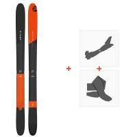 Ski Amplid Rockwell 95 2019 + Fixations de ski randonnée