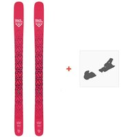 Ski Black Crows Camox Birdie 2019 + Fixation de Ski