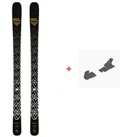 Ski Black Crows Daemon 2019 + Fixation de ski