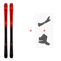 Ski Atomic Backland 78 UL Black/Redl 2019 + Touring bindingsAA0026638