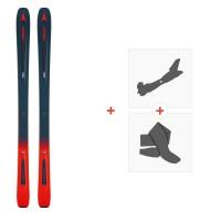 Ski Atomic Vantage 97 C Blue/Red 2019 + Fixations de ski randonnée + PeauxAA0027188