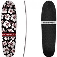 """Pumpkin Skateboards Surf Cruiser Hibiscus 80"""" - Cutback Deck Only 2019"""