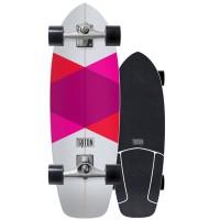 Surf Skate Triton by Carver Red Diamond 29'' 2018 - Complete