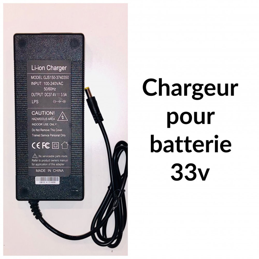 Chargeur 33 V pour E-TWOW Booster