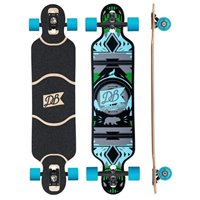 "DB Longboards Urban Native 38"" Blue and Green - Complete 2018"