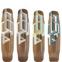 Longboard Loaded Tesseract Basalt 39'' - Deck Only 2019