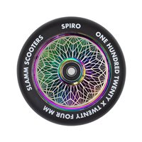 Slamm Wheels Spiro Hollow Core 120mm Neochrome 2019