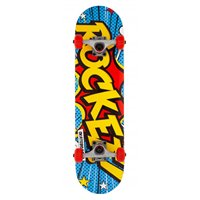 "Rocket Complete Skateboard Popart Mini 7.5"" 2019"