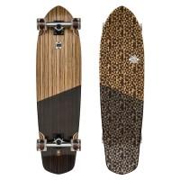 Skateboard Globe Blazer XL 36.25'' - Zebrawood / Black - Complete