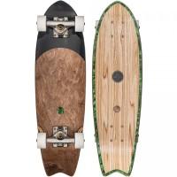 Skateboard Globe Sagano 26'' - Olivewood/Green Pearl - Complete