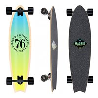 "Skateboard  Madrid Gun Fade Set 37.75"" Complete 2019"