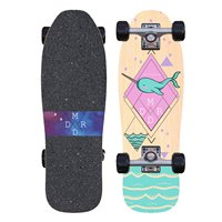 """Skateboard Madrid Stub Nose Micro Narwhal 25"""" Complete 2019"""