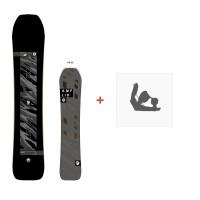 Snowboard Amplid Pentaquark 2018 + Fixations de snowboardA.170104